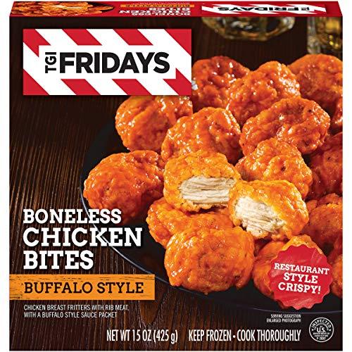 (TGI Friday's Buffalo Style Boneless Chicken Bites, 15 oz Box )