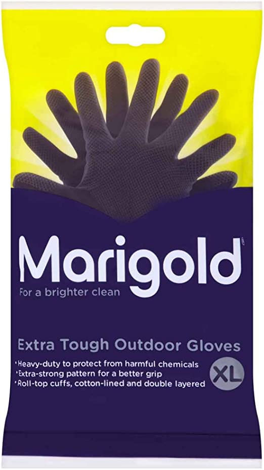 Marigold Extra Tough Outdoor Gloves Large Pack of 3 988026