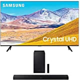 SAMSUNG 75-inch Class Crystal UHD TU-8000 Series - 4K UHD HDR Smart TV with Alexa Built-in + HW-T550 2.1ch Soundbar with…
