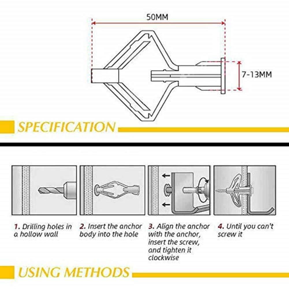 10 Pieces Aircraft Expansion Anchor Bolt