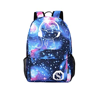 Anti-Theft Backpack Laptop Travel School Bags Larger Volume Capacity Casual Lightweight Rucksack with USB Charging Port (NO USB)