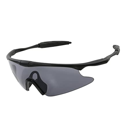 1dc899812bf Tongshop Outdoor Goggles Shooting Goggles Translucent Clear Lens Anti-Shock Safety  Glasses Eye Protector with Dual-Injected Rubber for Unisex Tactical ...