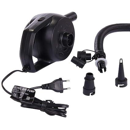 12V elektrische Luftpumpe 300mbar 450 l//min für Schlauchboote