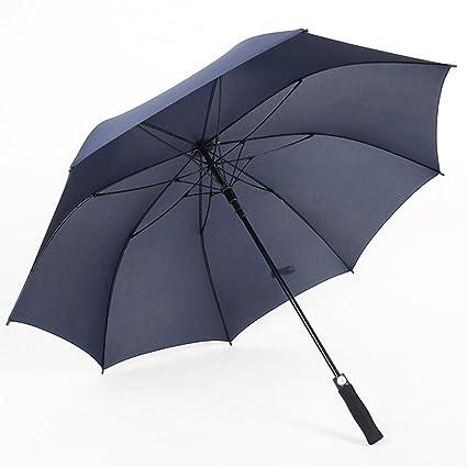 T.Kerry Golf Paraguas Largo para Los Hombres De Un Solo Toque Paraguas Automático De