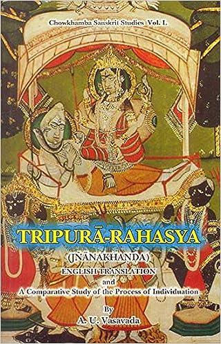 Tripura-Rahasya (Jnankhanda): A. U. Vasavada: 9788170804161 ...