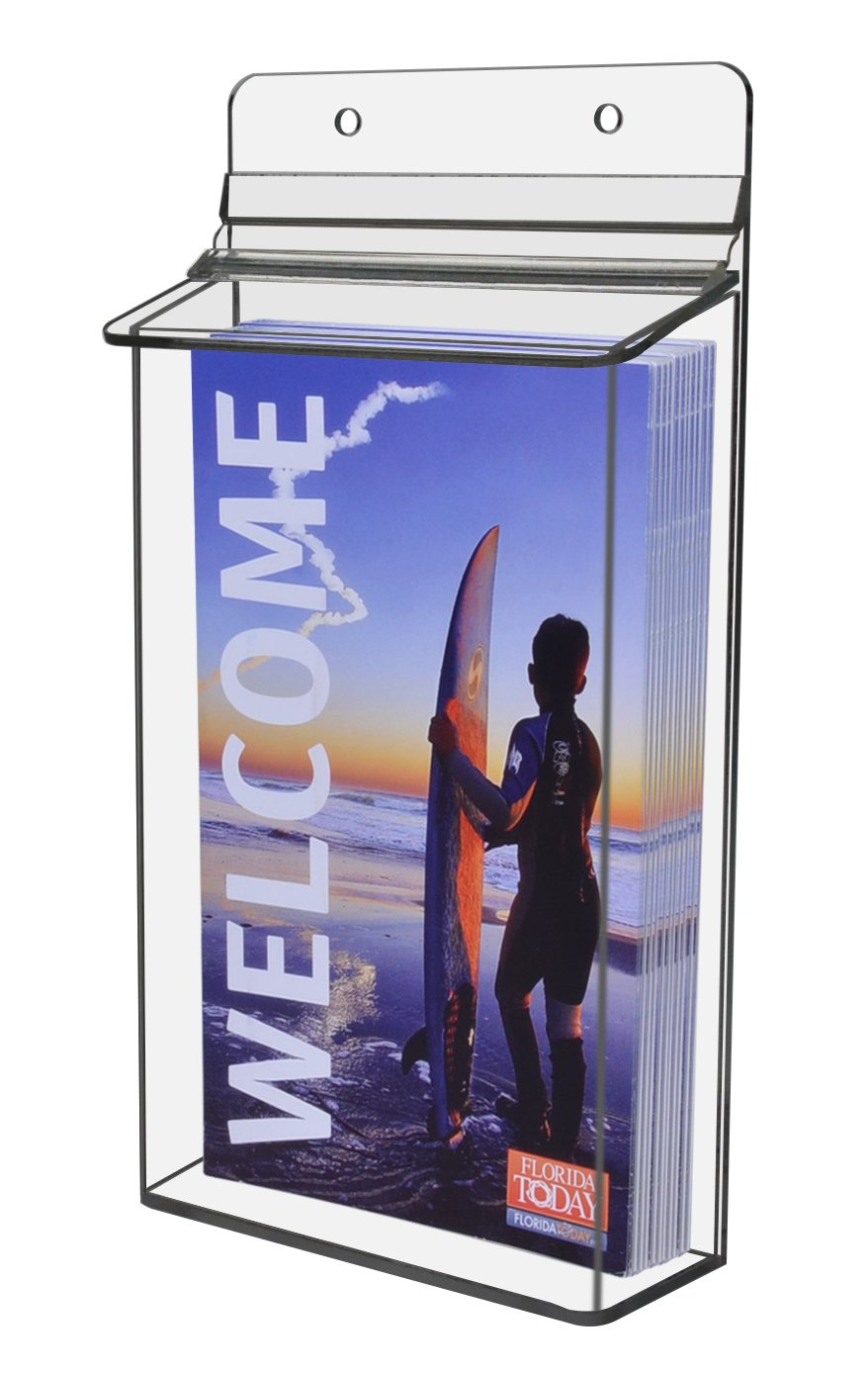 Marketing Holders Outdoor 5.5'' x 9'' Brochure Holder (pack of 6)