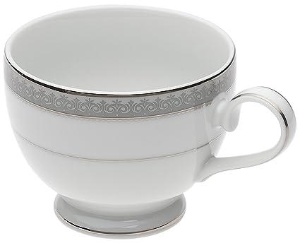Amazon Com Mikasa Platinum Crown Tea Cup Teacups Teacups