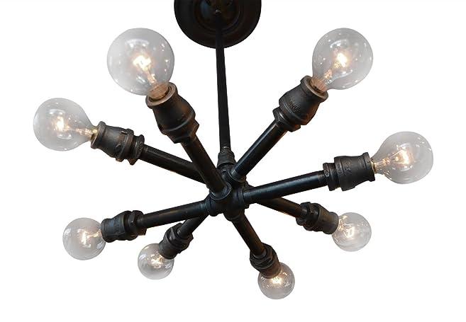 Industrial sputnik ceiling light amazon industrial sputnik ceiling light mozeypictures Image collections