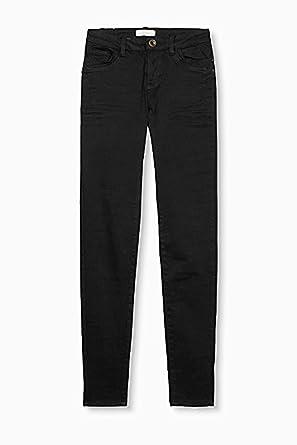 3b756ad0fac1d7 Esprit Stoffhose Hose Damen, Größe: 44, schwarz: Amazon.de: Bekleidung
