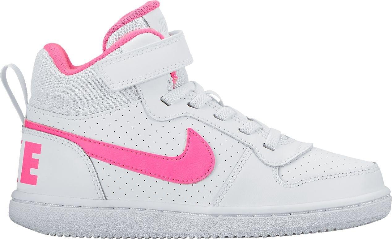 Nike Nike Court BGoldugh Mid (Psv) - Weiß Rosa blast
