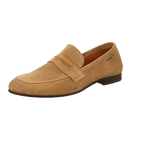 Gant Mocasines Para Hombre, Color Beige, Talla 42 EU: Amazon.es: Zapatos y complementos