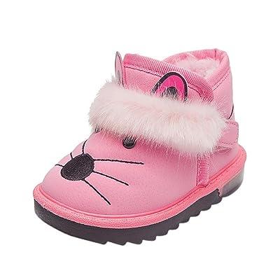 Dreamyth Cartoon Newborn Kids Baby Girls Boys Anti-Slip Socks Slipper Shoes Boots New