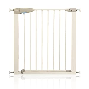 Lindam Sure Shut Porte Pressure Fit Safety Gate, 76-82 cm - White