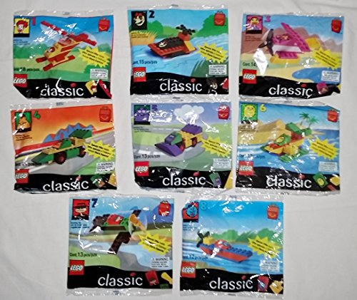 McDonalds Lego Classic Complete Happy Meal Set - 1999