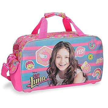Disney Yo Soy Luna Bolsa de Viaje, 25.88 litros, Color Rosa: Amazon.es: Equipaje