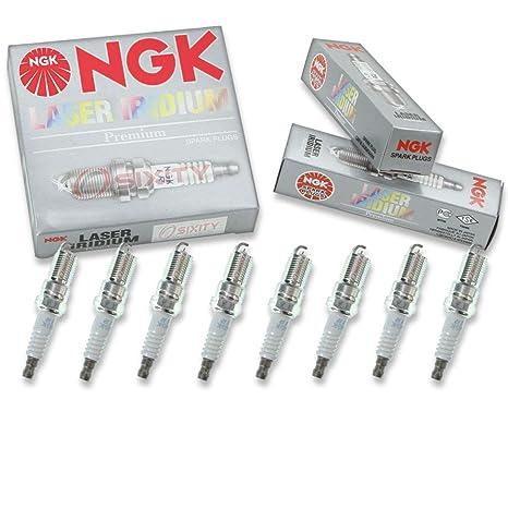 NGK tóner – Juego de bujías de iridio Lincoln Town Car 91 – 11 Gas Flex