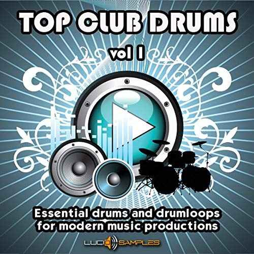 Top Club Drums Vol 1 - 2888 Drums and Drum Loops, Drum Sample Pack WAV Files Download