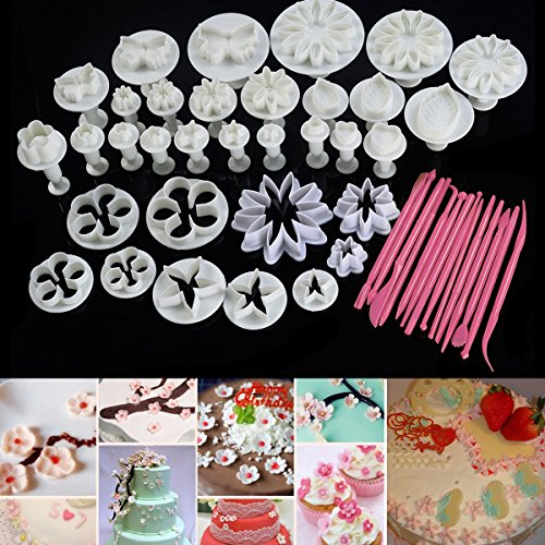 Cake Decoration Mold Tools for Bakery Set of 47