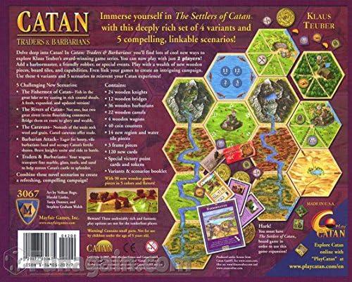 Catan Expansion Traders /& BarbariansTrade Token Set of 21 Catan Chits