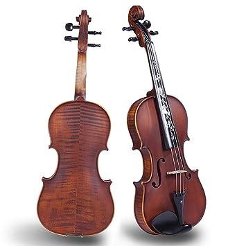 QING.MUSIC Stringed instrument Abeto de Grado A, Natural, de ...