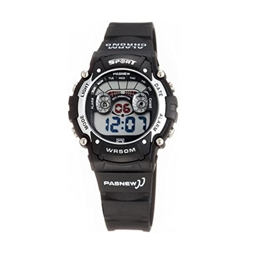 Fashion LED resistente al agua ideal para la práctica de deportes de los relojes digitales para