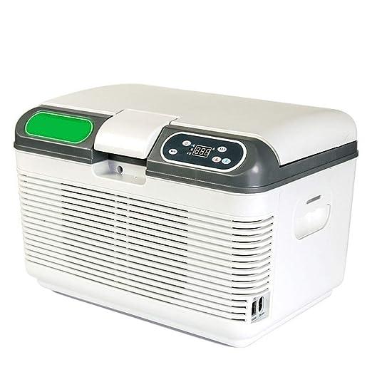Mini nevera compacta portátil Refrigerador y calentador portátiles ...