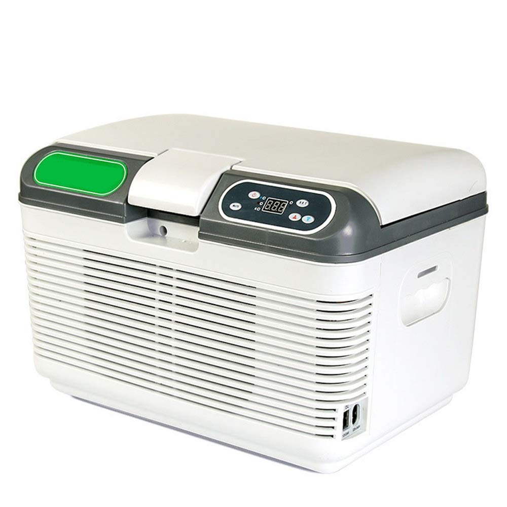 Nrthtri Mini Fridge Portable AC/DC Powered Cooler and Warmer for Cars, Road Trips, Homes, Offices, and Dorms, car Refrigerator car Refrigerator (Color, Size : 412929.5cm)