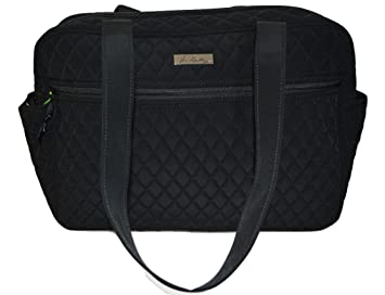 49ab0f471faf Amazon.com   Vera Bradley Baby Bag in Classic Black   Baby