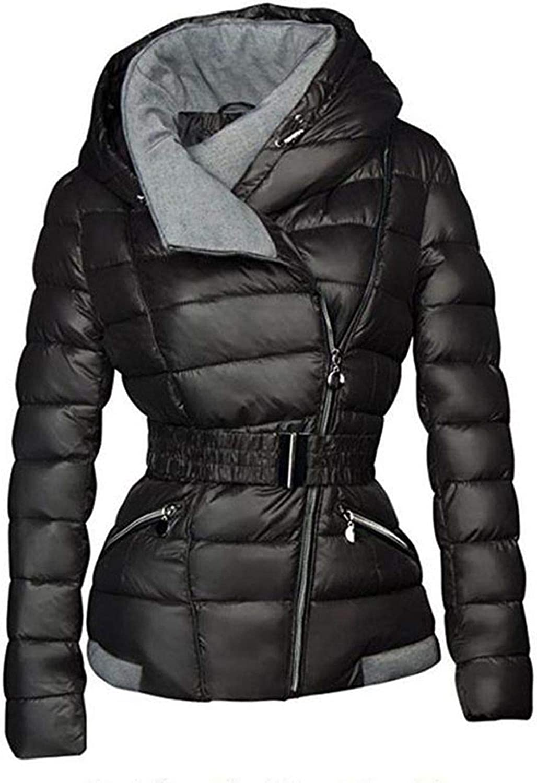 Be fearless 2018 Winter Coats Women Parkas Cotton Warm Thick Short Jacket Coat Slim Casual Black Outerwear Overcoats,Black,XL