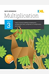 IXL | Grade 3 Multiplication Math Workbook | Fun Math Practice for Ages 8-9, 112 pgs Paperback