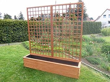 Pflanzkübel Rankgitter.Dekofigurentraum Pflanzkübel Mit Rankgitter Breite 208 Cm