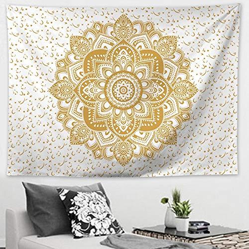 Amazon.com: Simmia Home Mandala Series Tapestry Beach Towel ...