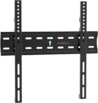 Charmount Ultra Slim Tv Wall Mount Bracket Premium Fixed Tv Mount Low Profile For Most 26