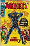 The Avengers #87 Origin of Black Panther Silver Age Marvel Comic Book