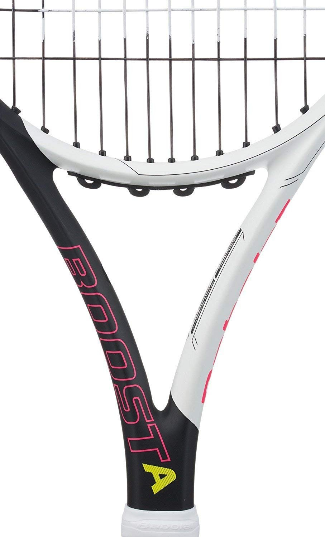 Amazon.com: Babolat Boost Aero Pink Pre-Strung Midplus ...