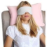 HappyLuxe Sleep Mask, Luxury Eye Mask for Sleeping, Soft Airplane Eye Cover