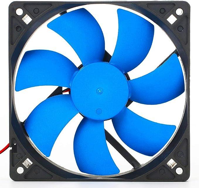 SMARTRICH Ventilador para Caja de computadora, Ventilador silencioso de 120 mm para PC de Escritorio Chasis de ...