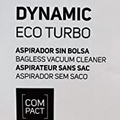 Taurus Dynamic Eco Turbo Aspirador Trineo sin Bolsa de 700W, 2 L ...