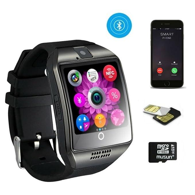 TKSTAR Business reloj pulsera hombre, Bluetooth Smart Watch ...