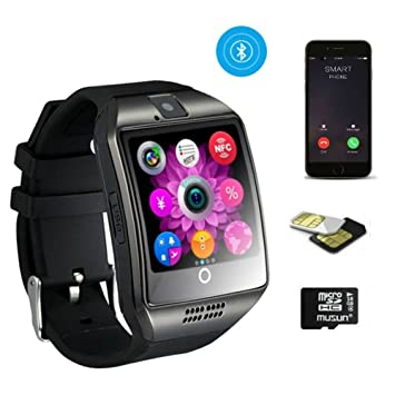 TKSTAR Business reloj pulsera hombre, Bluetooth Smart Watch Fitness GSM/GPRS con función mando