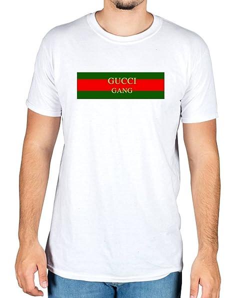 Ulterior Clothing G Gang Flag T-Shirt Lil Pump D Rose Molly Skrr Trap  Music  Amazon.it  Abbigliamento 6c62e176747