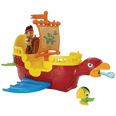 Fisher-Price Disney Jake & the Never Land Pirates, Skully's Soaring Ship: Toys & Games