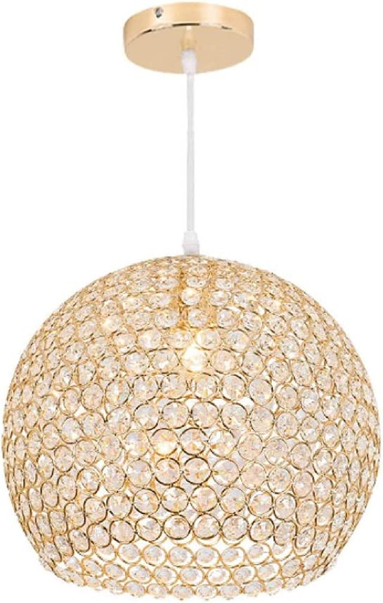 Crystal Chrome Chandelier Pendant Light with Crystal Beaded Drum Shade at Destination Lighting