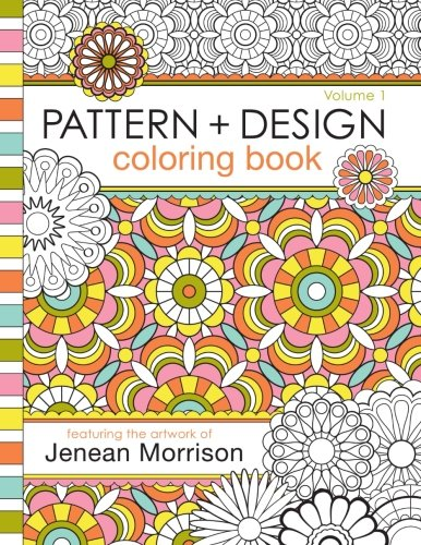 Pattern Design Coloring Jenean Morrison product image