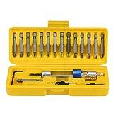 XXYsm Kit of Half Time Drill High Speed 20bits Drill Driver Screwdriver Head Tools