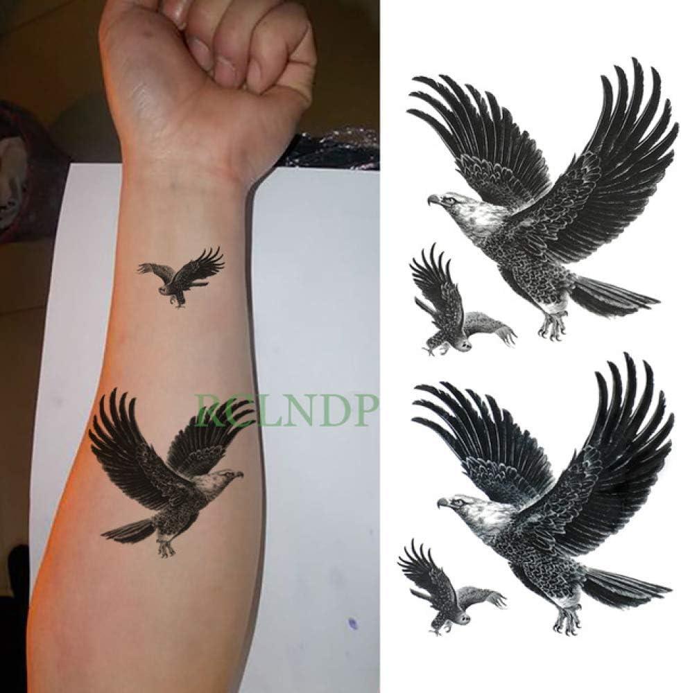 Handaxian 5 Piezas Etiqueta engomada del Tatuaje a Prueba de Agua Tigre Animal Pierna Brazo Mano Pie Tatuaje Niño Chica Señora Tatuaje 5 Piezas-6: Amazon.es: Hogar