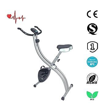 Ativafit F-Bike Bicicleta estática de fitness X Bike Bicicleta ...