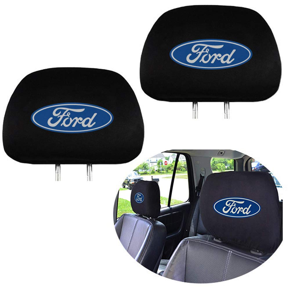Washable Car Truck SUV Van Headrest Covers for Dodge Vehicles 99 Carpro Headrest Covers for Dodge Set of 2