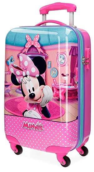 Disney Minnie Smile Bagage enfant, 50 cm, 34 liters, Rose (Rosa)