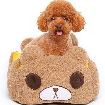Wuwenw Cama De Perro De Mascota Oso Lindo con Cojín ...